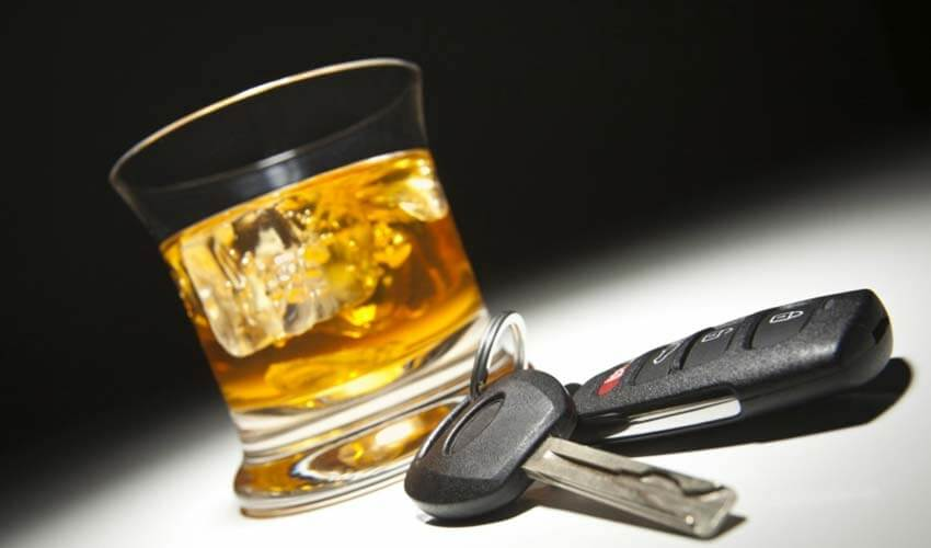 Наказание за езду в пьяном виде