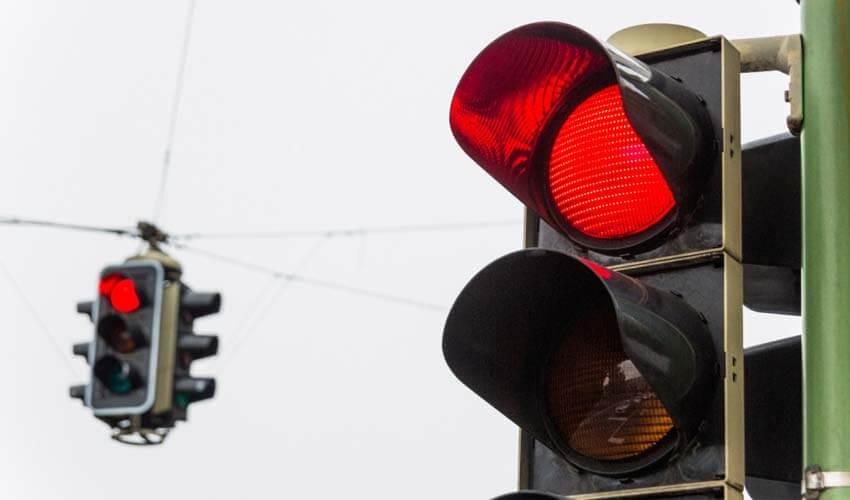 Штраф за проезд на красный свет в 2017 году