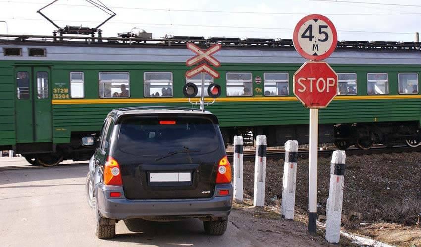 Штраф за проезд на красный свет ж/д светофора