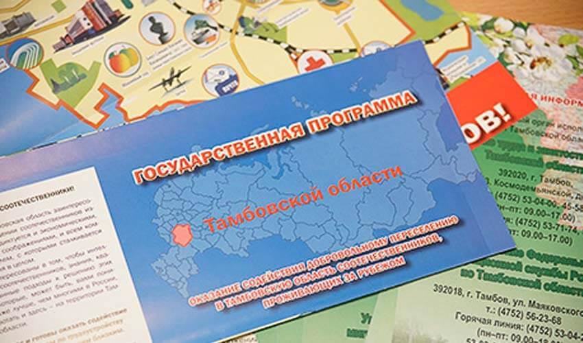 Регионы для вселения по программе переселения соотечественников